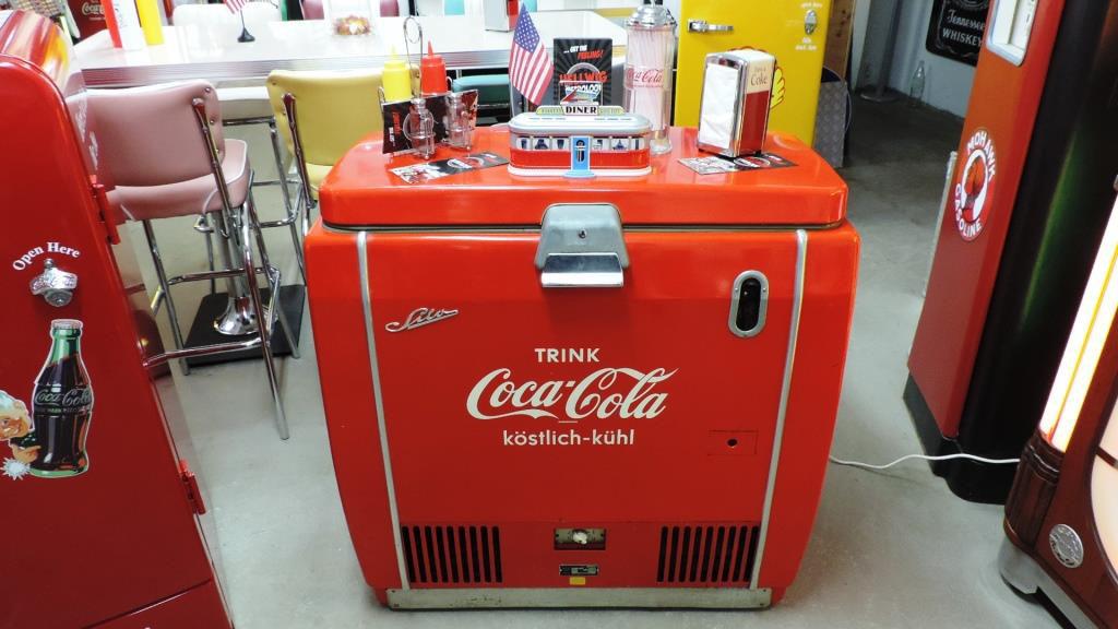 Retro Kühlschrank Coca Cola : Texaco hellwig s retrolook