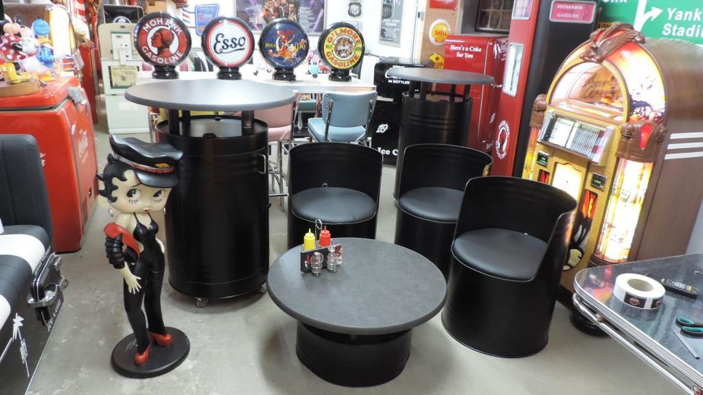 zur gestaltung einer gemutlichen sitzgruppe bieten sich unsere per lasercut aus olfassern gefertigten lounge sessel an die sitzflache hat einen durchmesser