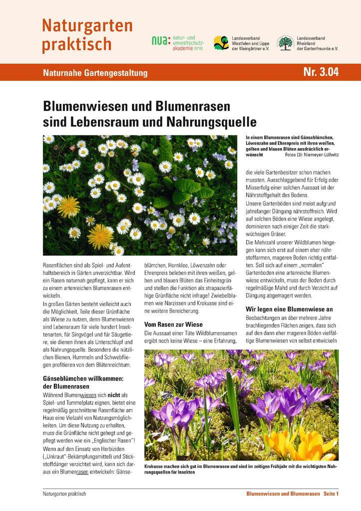 Gartengestaltung - Naturgarten praktisch - Kleingartenverein ...