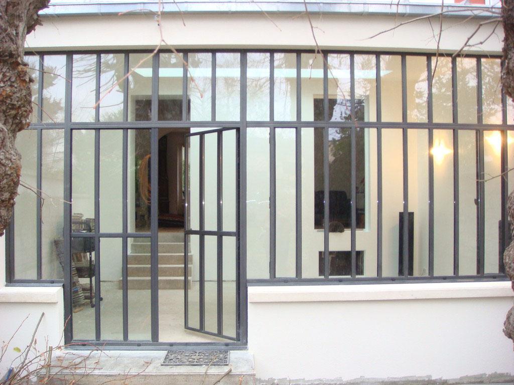 veranda style verriere awesome atelier artiste best of style verriere exterieure lovely veranda. Black Bedroom Furniture Sets. Home Design Ideas