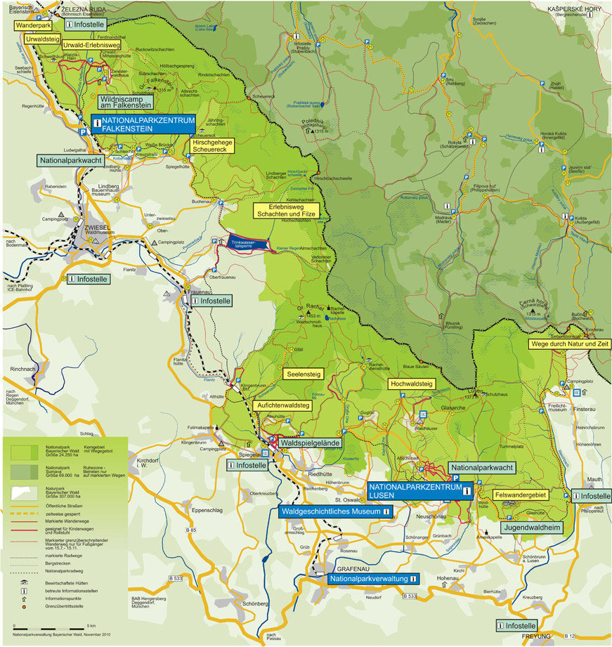 Nationalpark Bayerischer Wald Karte.Nationalpark Bayerischer Wald Erholung Und Erlebnisse Für Die