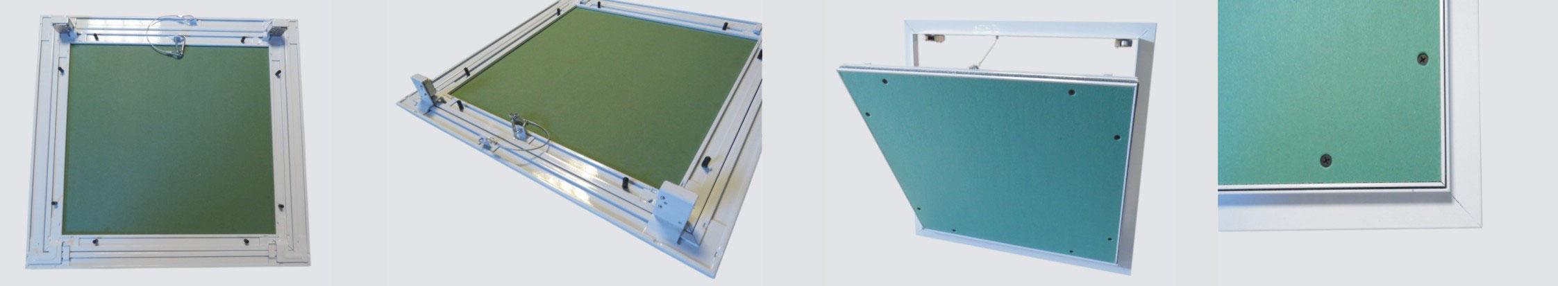 Revisionsklappe The White Edition 500x500mm mit 12,5mm GK-Einlage
