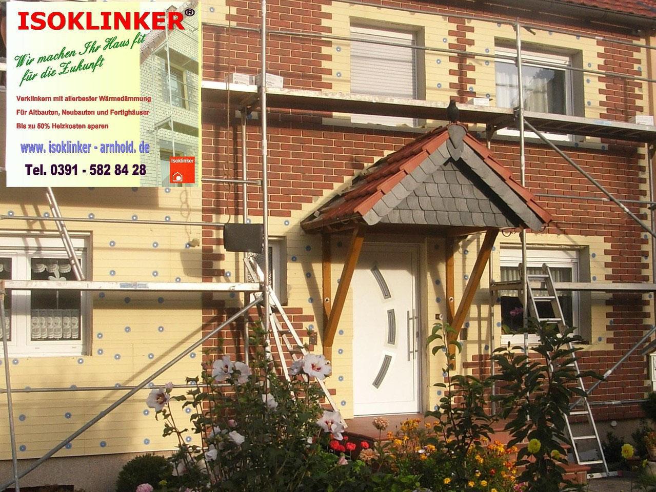 Häufig ISOKLINKER - Arnhold - Mit modernen Bauelementen Energie sparen BW32