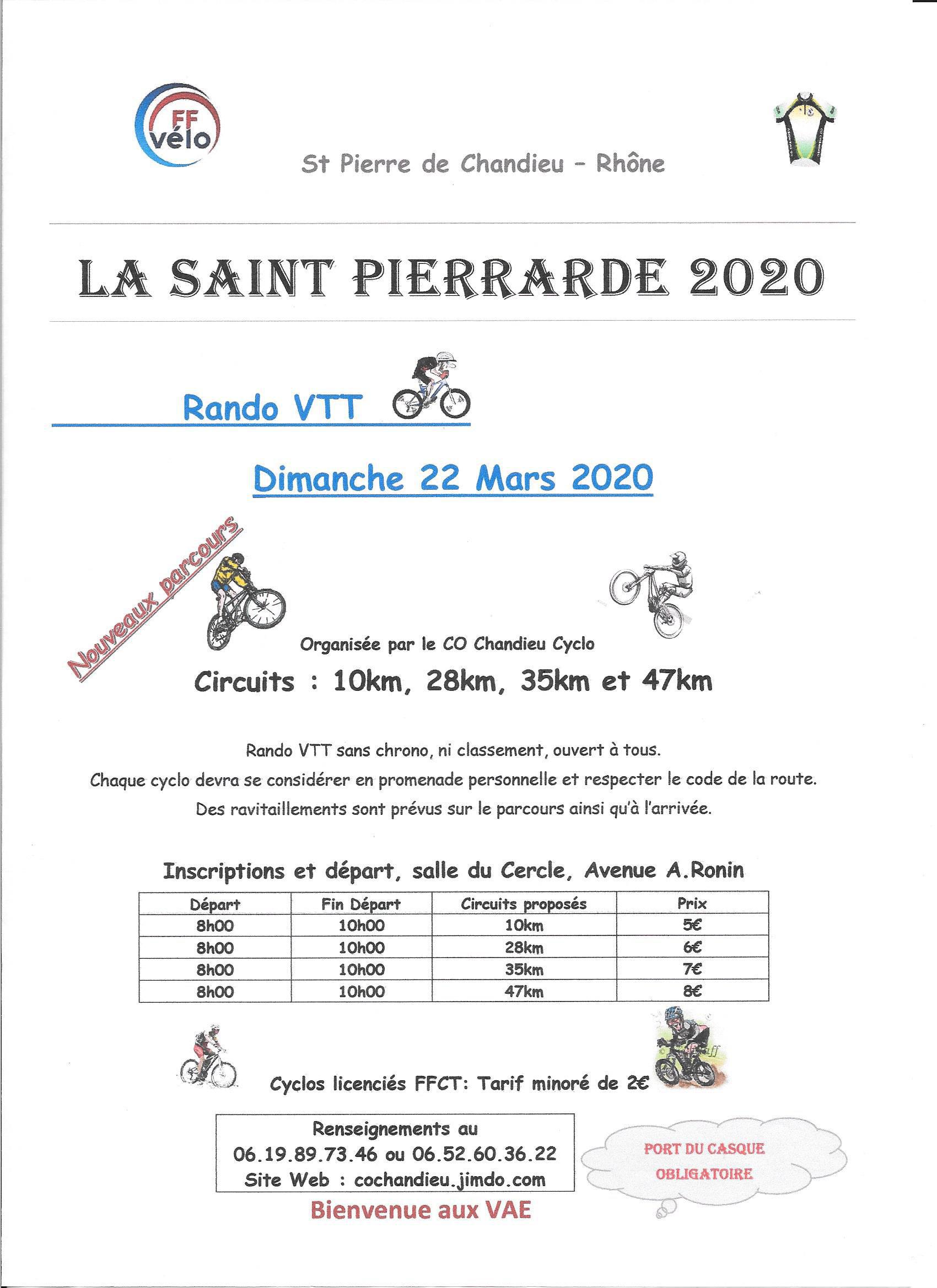 Calendrier Vae 2020.Ffct Calendrier 2020