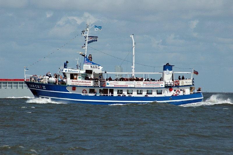 Schiffsausflüge - Küstenheide, Wernerwald, Finkenmoor, Sandstrände ...