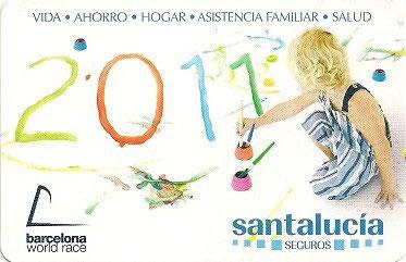 Santa Lucia Calendario.Calendarios De Bolsillo Espana Comerciales S Seguros