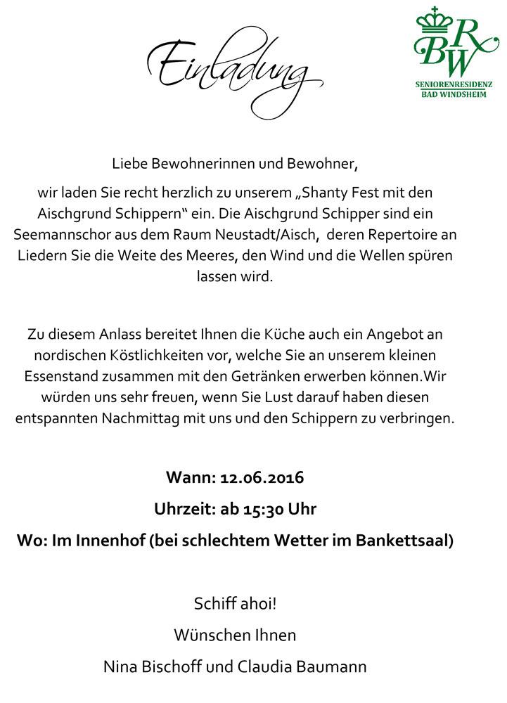 Seniorenresidenz Bad Windsheim - Aischgrund-Schipper e.V.