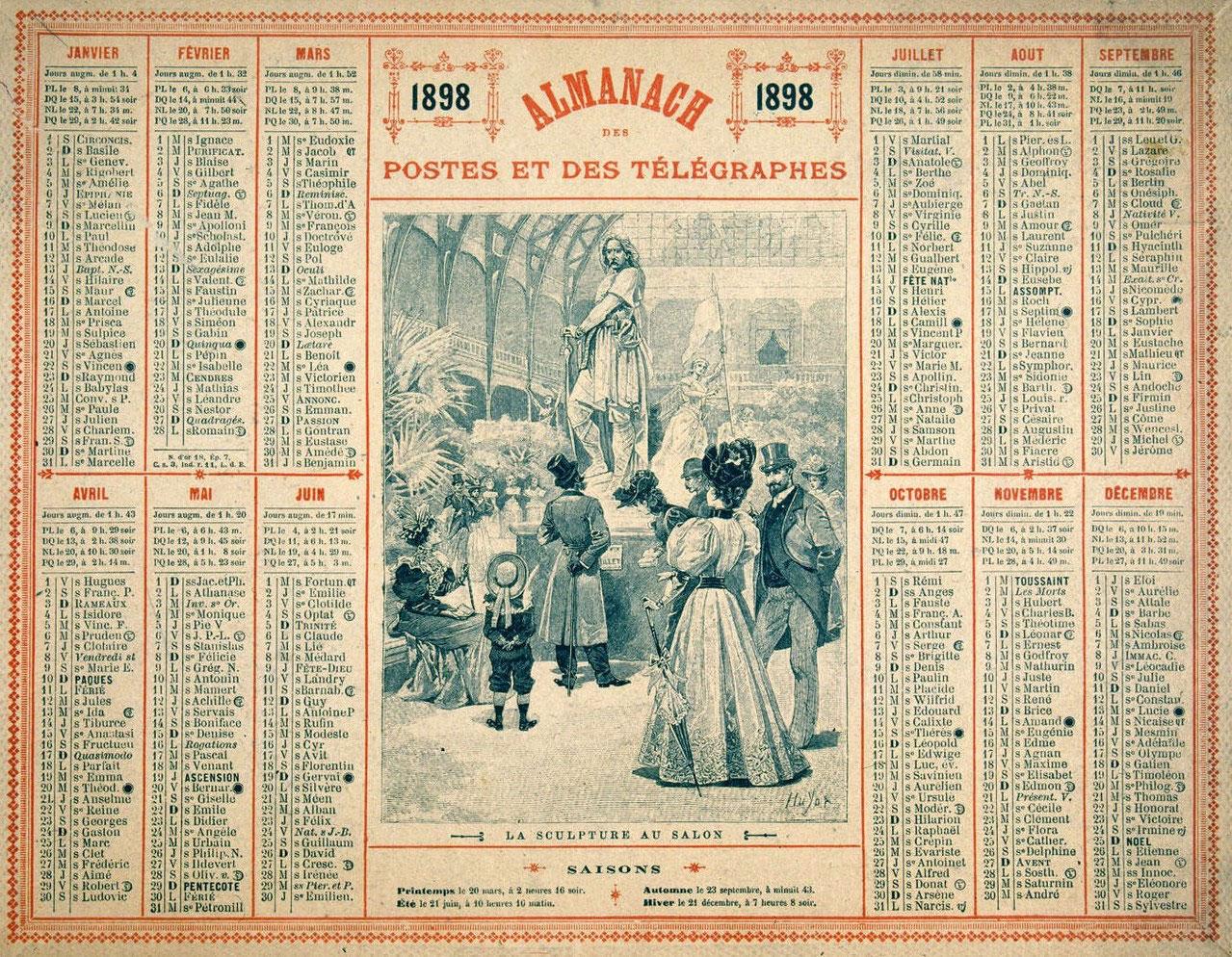 """Résultat de recherche d'images pour """"François-Charles Oberthur almanach 1849"""""""