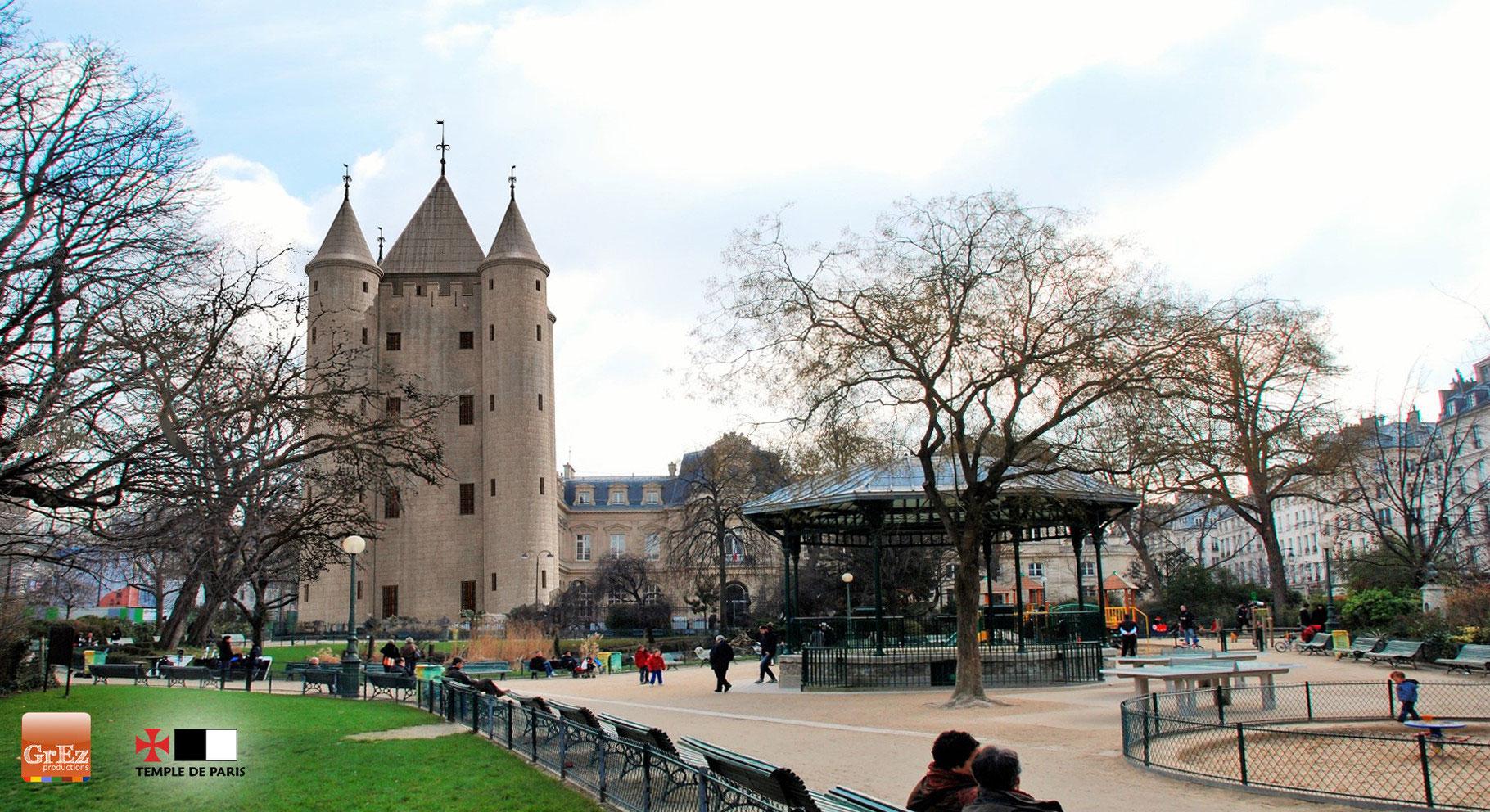 """LE DONJON DU TEMPLE DE PARIS DIT """"LA GROSSE TOUR"""" - Maison des Templiers"""
