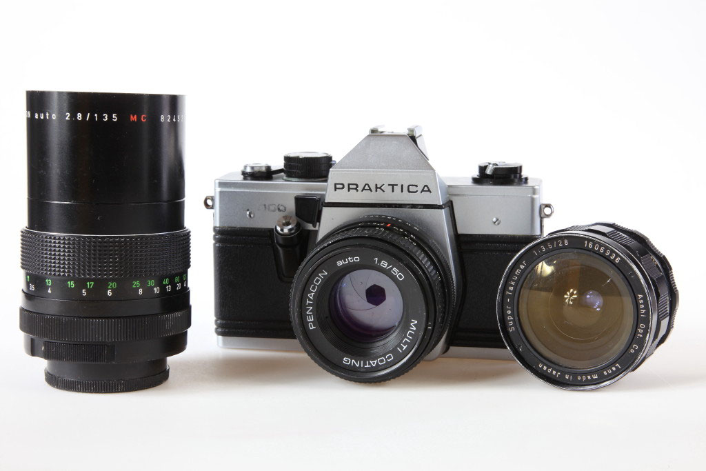Praktica super tl film camera for sale in mansfield