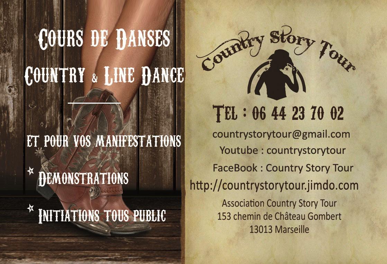 Carte De Visite Country Story Tour