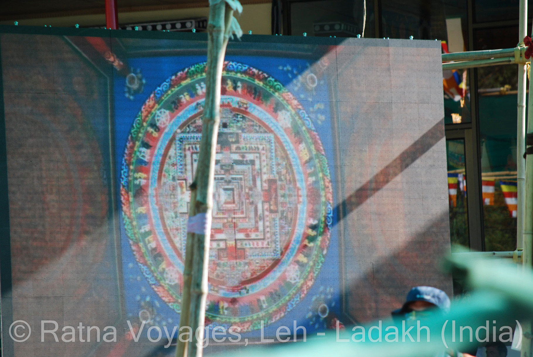 OUR PHOTO GALLERY FROM THE 33rd KALACHAKRA INITIATION