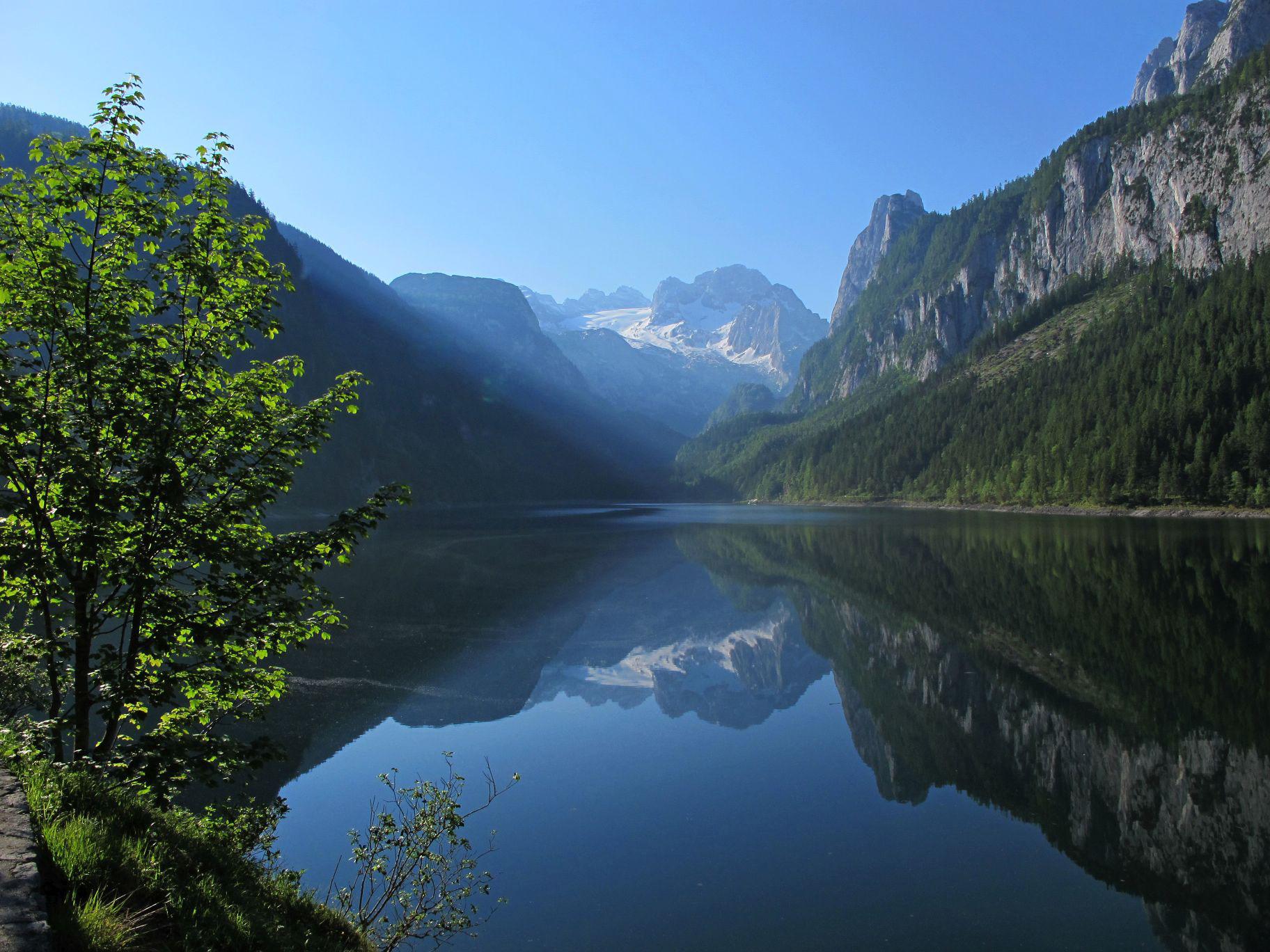 Klettersteig Donnerkogel : Klettersteig auf den donnerkogel und umrundung gosaukamm statt