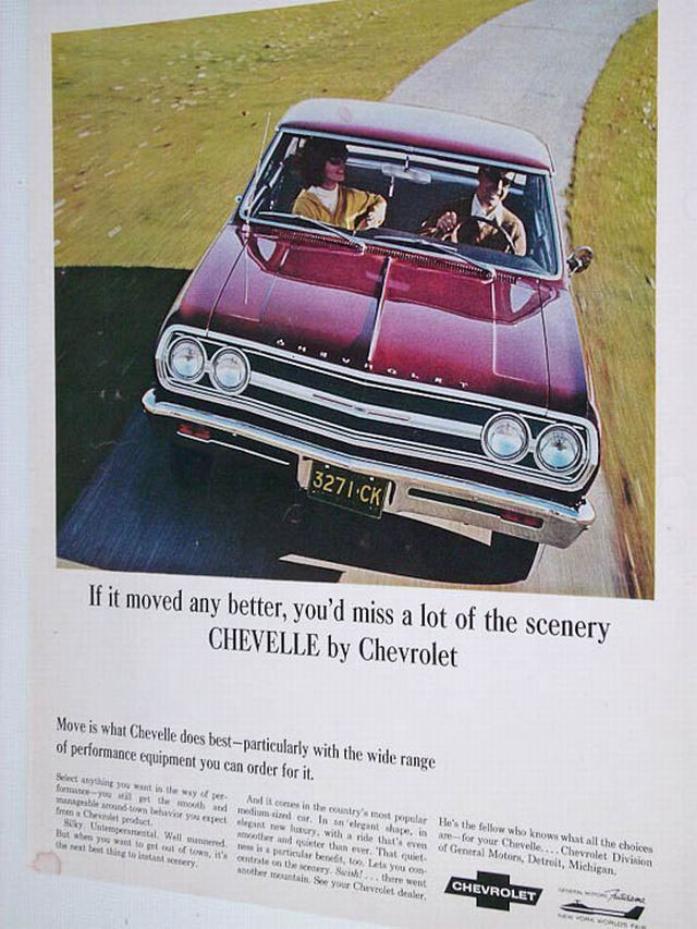1965 Chevrolet Chevelle Malibu SS-396 - chrome-and-fins-collection ...