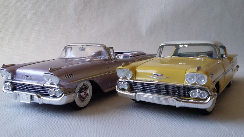 1958 Chevrolet Impala Chrome And Fins Collection Webseite
