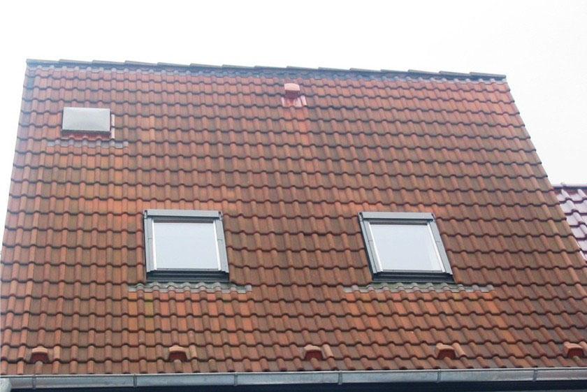 dachziegel moos gallery of auf den dachziegeln bzw dach wchst moos with dachziegel moos top. Black Bedroom Furniture Sets. Home Design Ideas