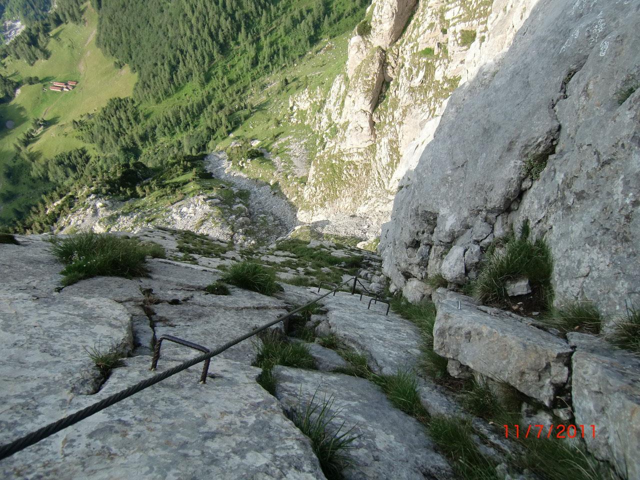 Klettersteig Soca Quelle : Cellon klettersteig unterwegs im dreiländereck