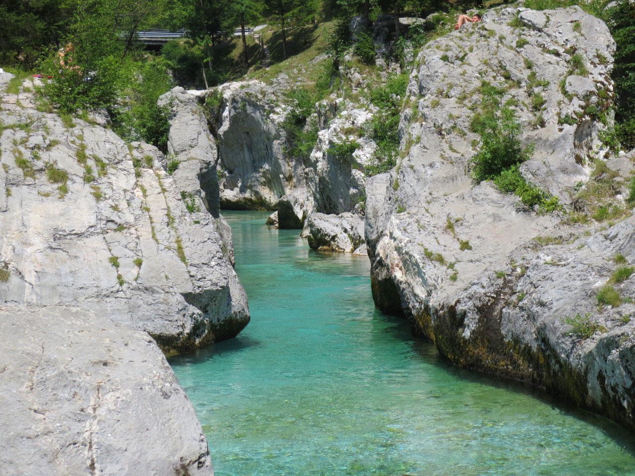 Klettersteig Soca Quelle : Soca camping unterwegs im dreiländereck