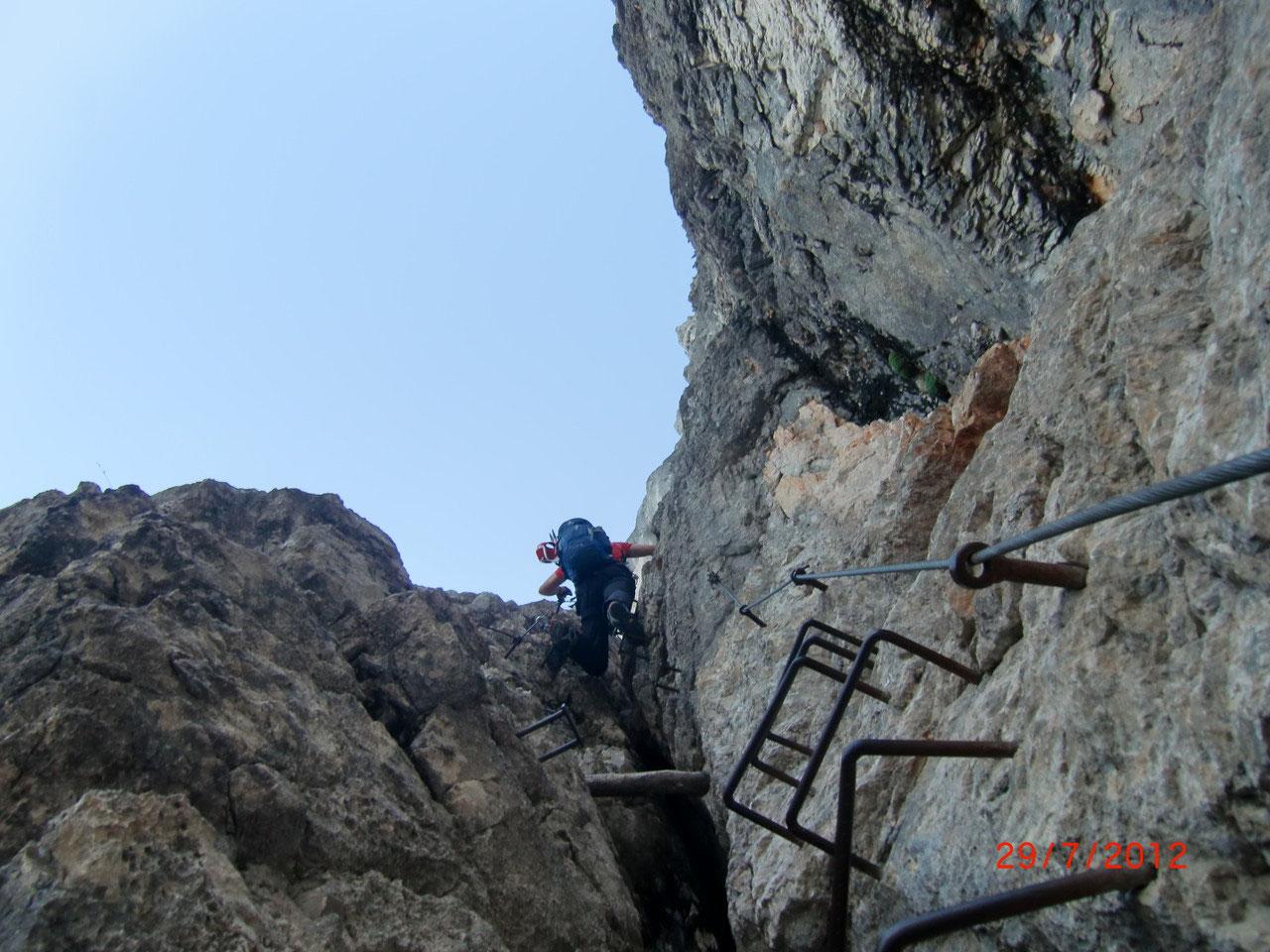 Klettersteig Julische Alpen : Mala mojstrovka m sg b c ii julische alpen
