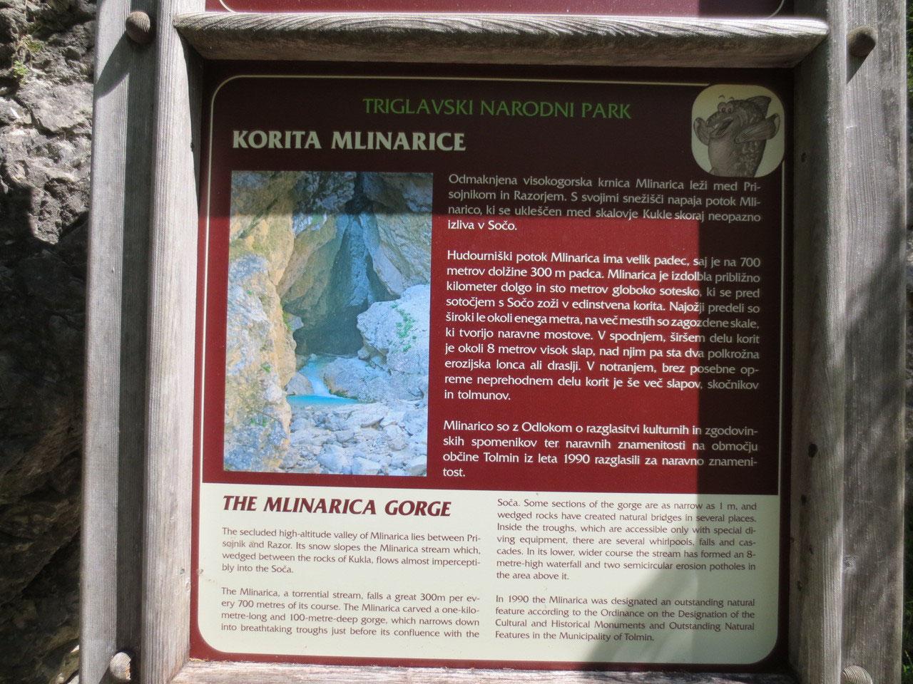 Klettersteig Soca Quelle : Soca quelle unterwegs im dreiländereck