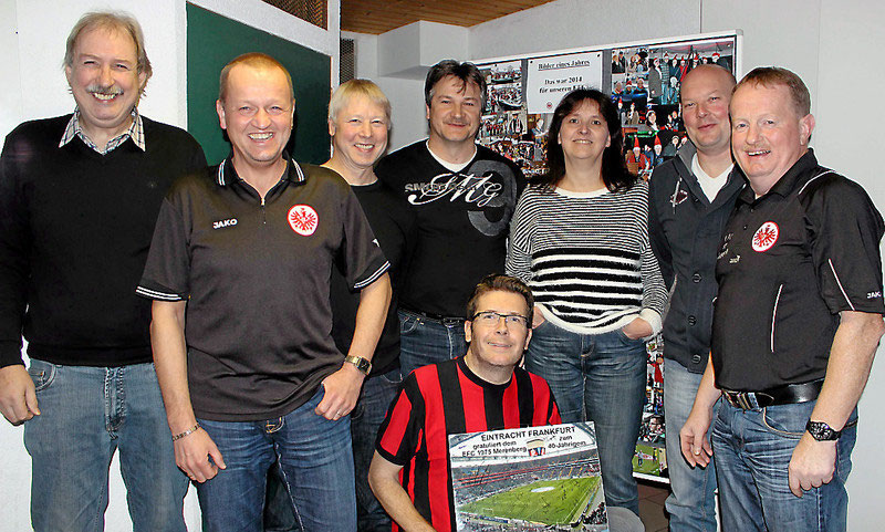 Eintracht Frankfurt Weihnachtsfeier.Versammlung Eintracht Fanclub Merenberg Wird 40 Jahre Alt Fanclub