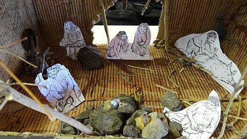 Weihnachtsbasteln 5 Klasse.Die Steinzeithöhlen Der Klasse 5kc Kooperative Gesamtschule Sehnde