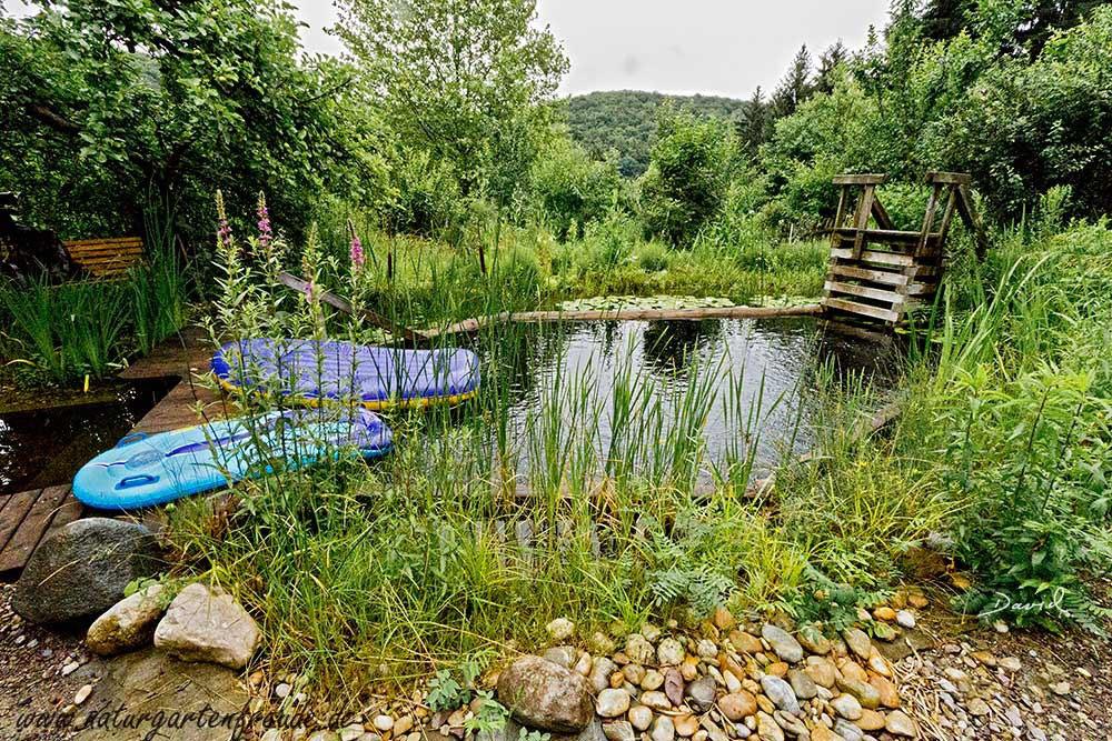Atemberaubend Schwimmteiche - Wildbienenschutz im Naturgarten #AZ_95