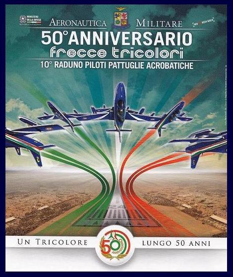 Frecce Tricolori Calendario 2020.50 Anniversario Benvenuti Nel Sito Dedicato Alle Frecce