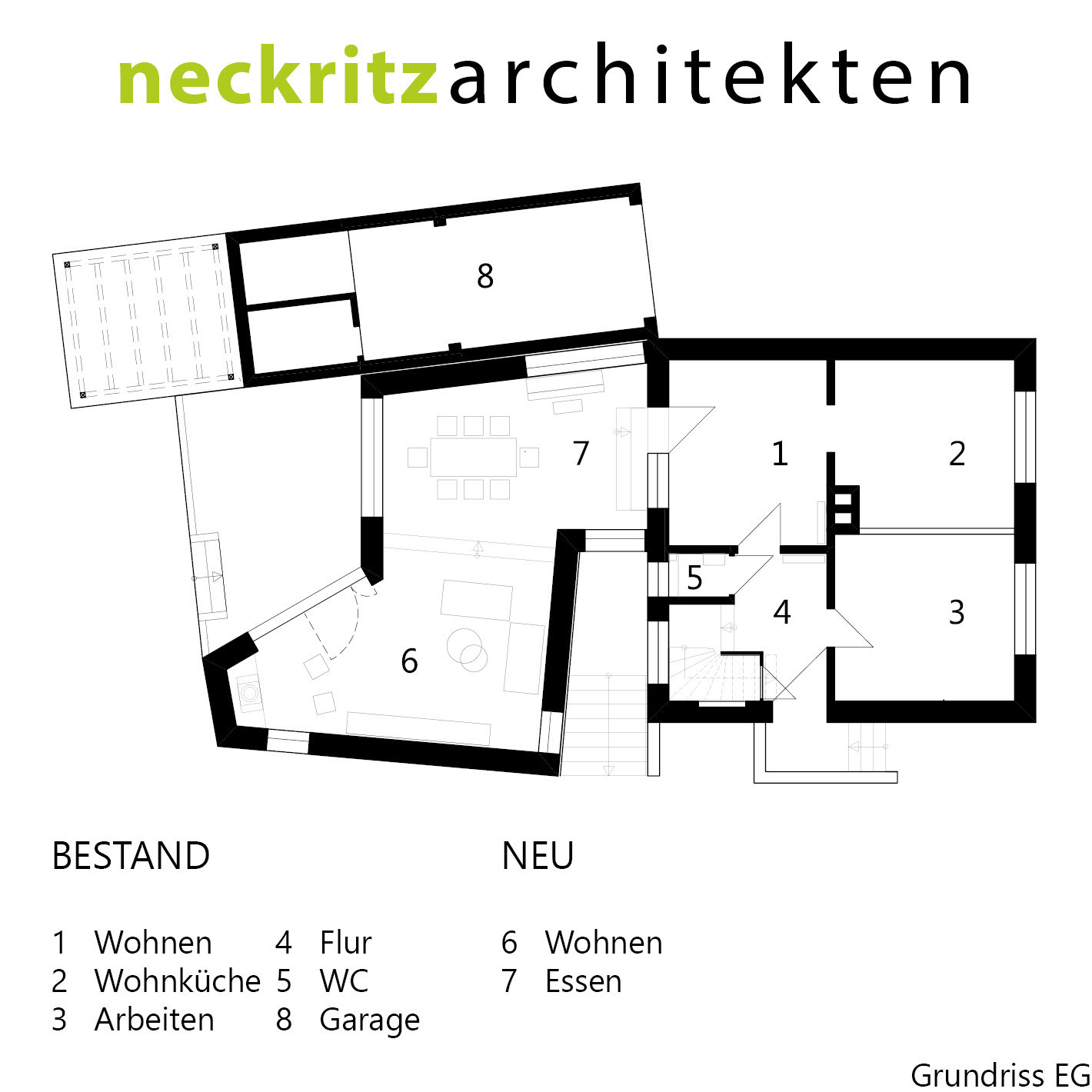 Grundriss Haus Handick In Neukirchen Vluyn Tag Der Architektur