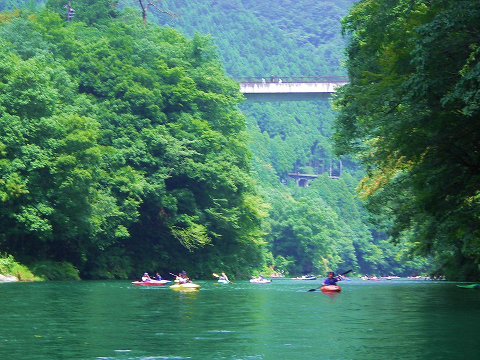 Kayaking in Okutama, Tokyo - geosciencewriter ページ!