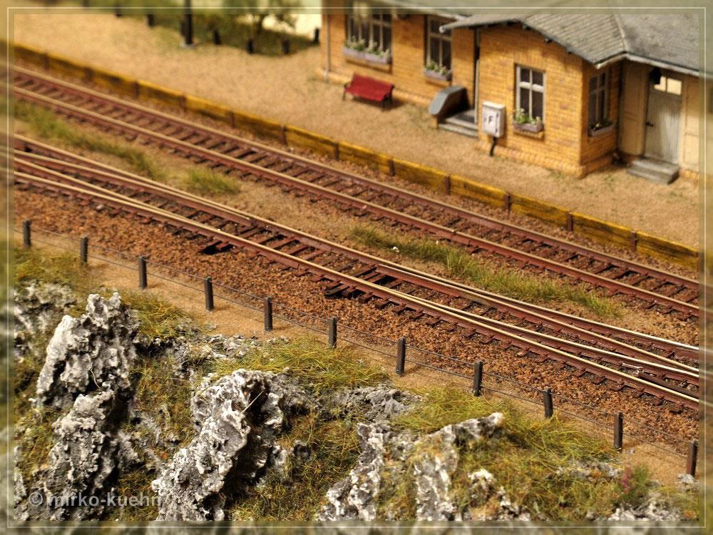 Basteltipp Zaun Und Gelanderbau Eine Modellbahn In Der Spur Tt