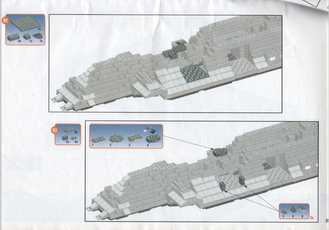 Lego super model building instructions instructions 1593, space.