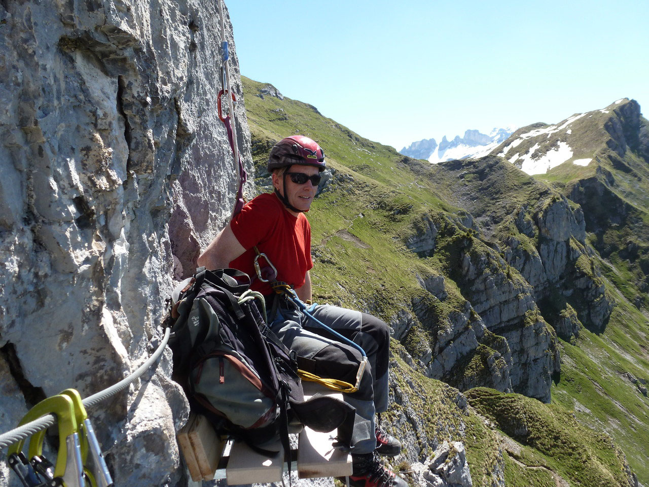 Klettersteig Fruttstägä : Biel kinzig ag klettersteig