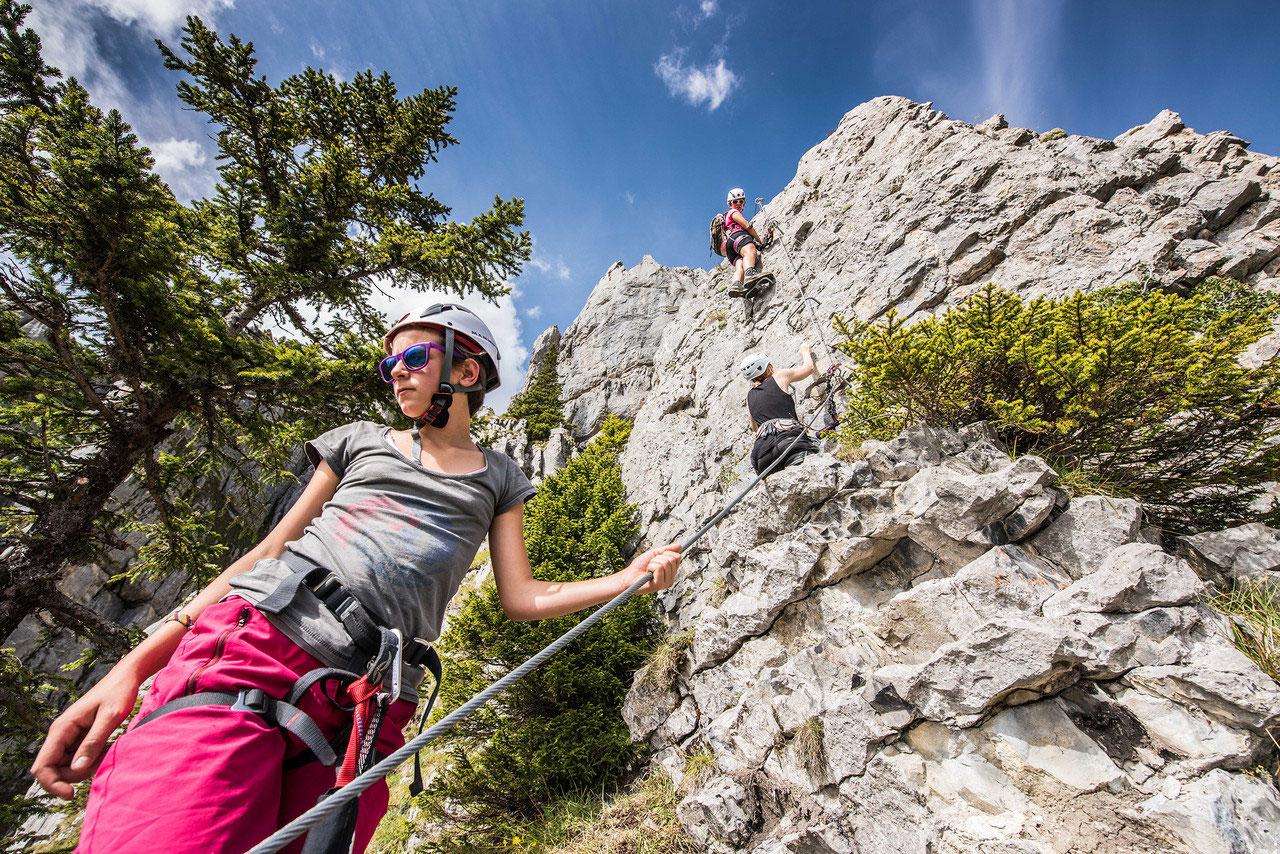 Klettersteig Fruttstägä : Klettersteige tälli