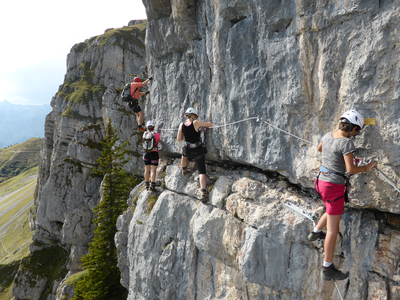Klettersteig Fruttstägä : Dumbo s wanderungen klettersteig fruttstägä