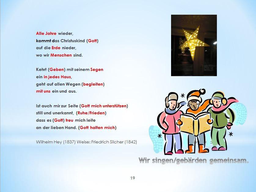 Advents- und Weihnachts•gebärdenlieder - Religions-Ordner für ...
