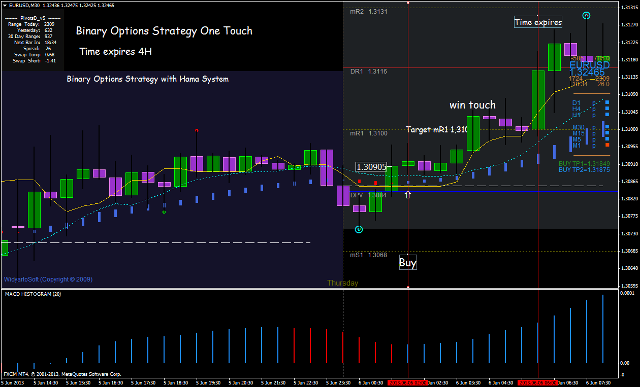 binary options scalping system with grids