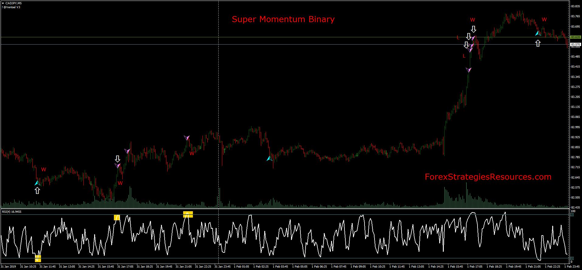 Super Momentum Binary - Forex Strategies - Forex Resources