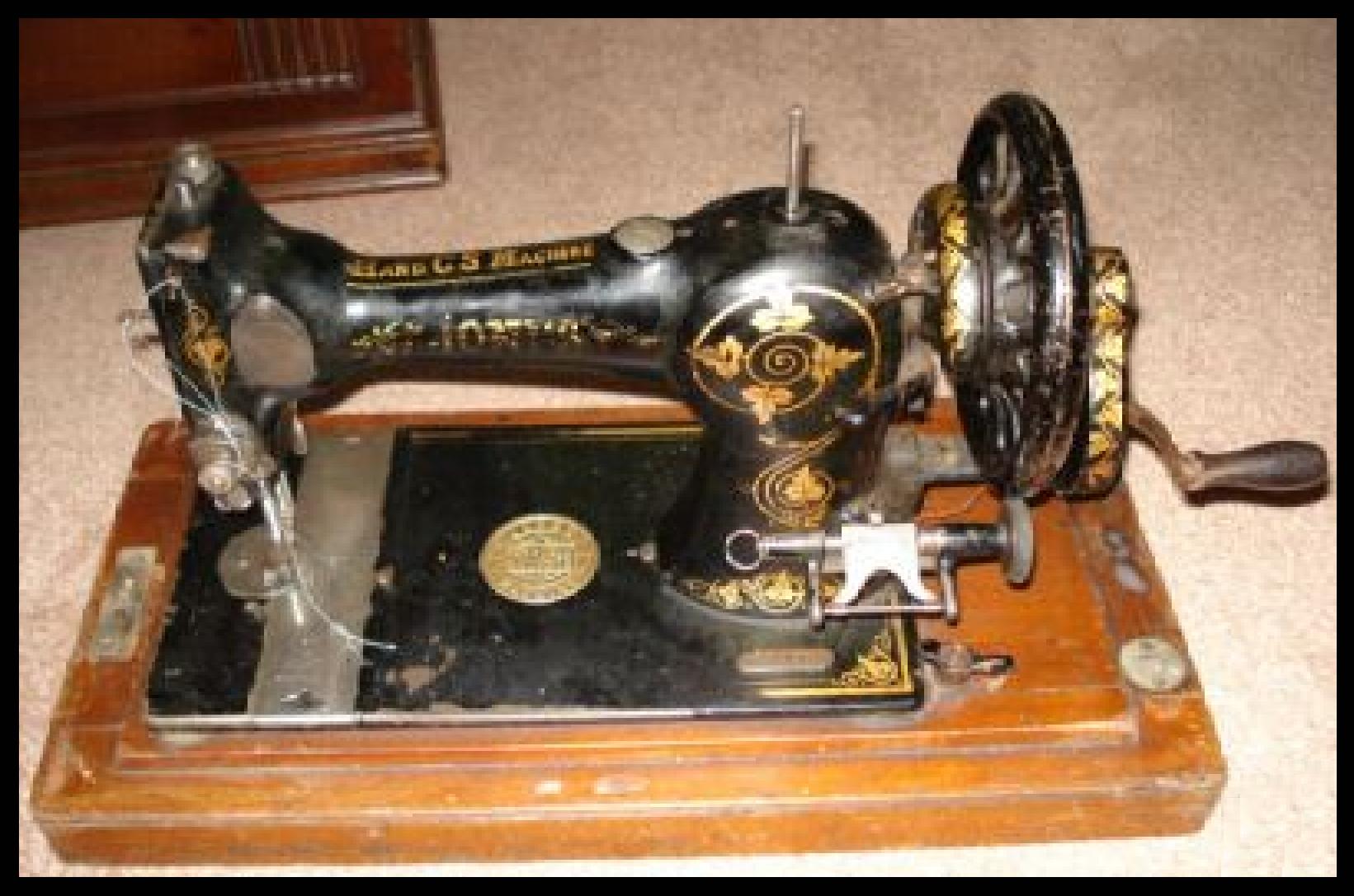 Dating Willcox & Gibbs naaimachines