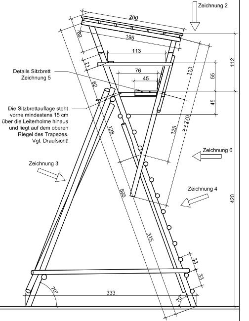 hochsitz selber bauen selbst bauen von wandel gerold with hochsitz selber bauen great hochsitz. Black Bedroom Furniture Sets. Home Design Ideas
