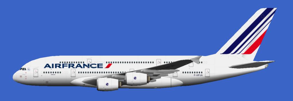 Air France - Flyingcarpet's flightsim repaints