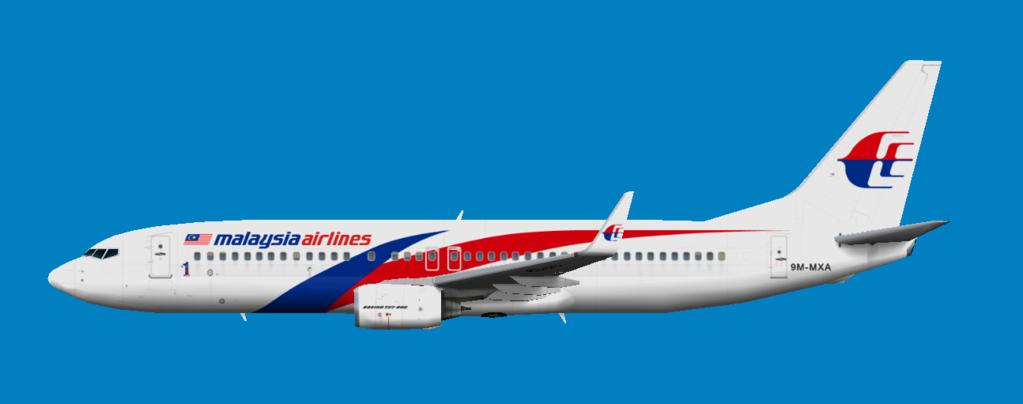 Malaysia Airlines - Flyingcarpet's flightsim repaints
