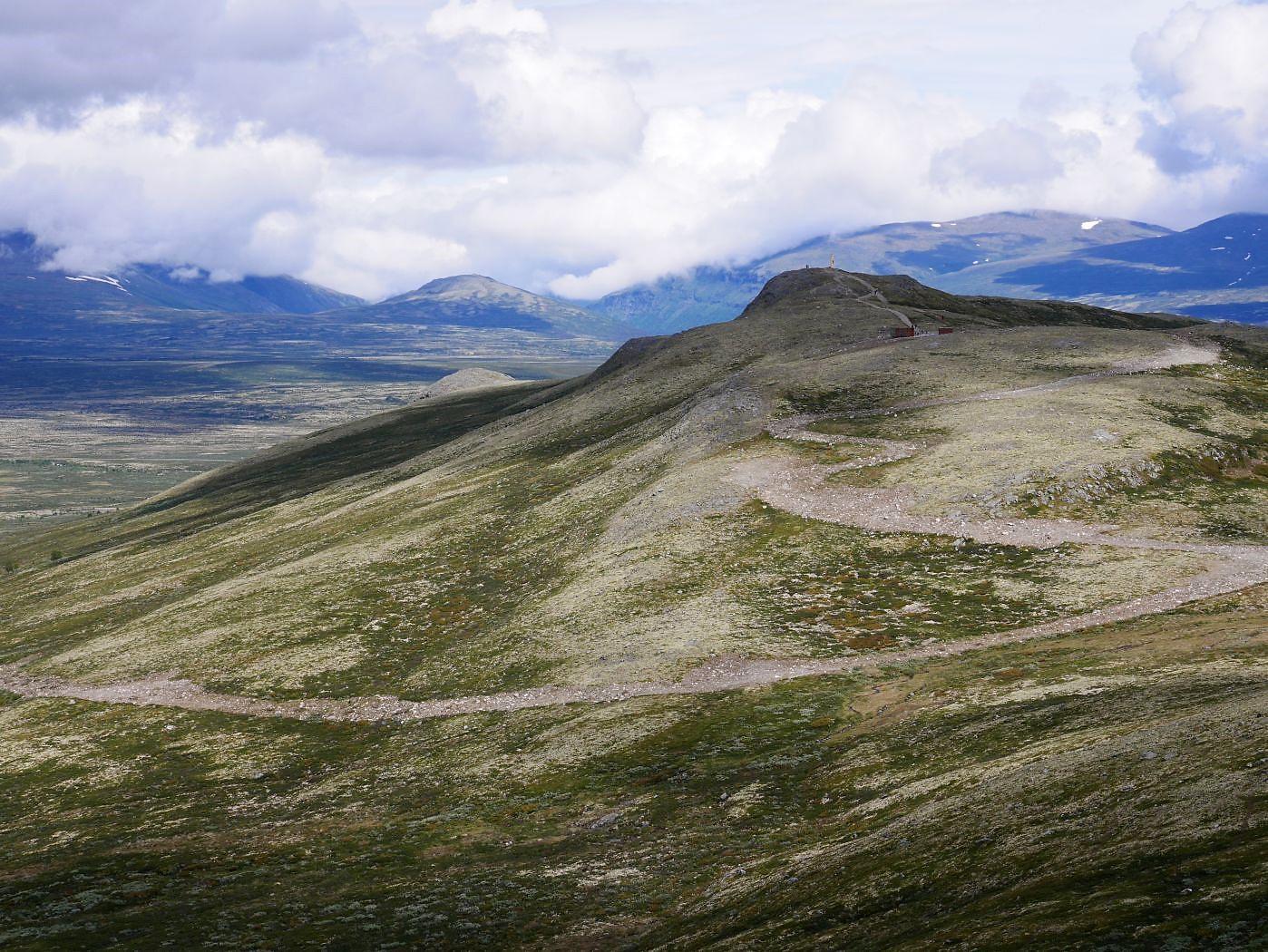 Blick zurück zum Viewpoint