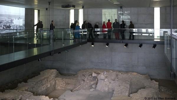 FLS-Rundgang in der Gedenkstätte Liberale Synagoge