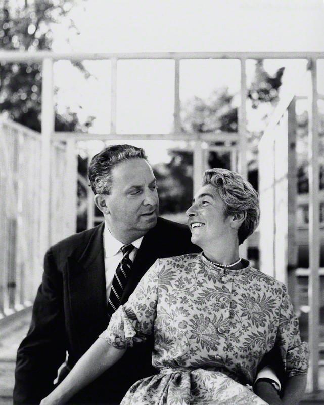 Elsbeth und Hans Juda, 1950er Jahre, © Elsbeth R. Juda / V&A Images