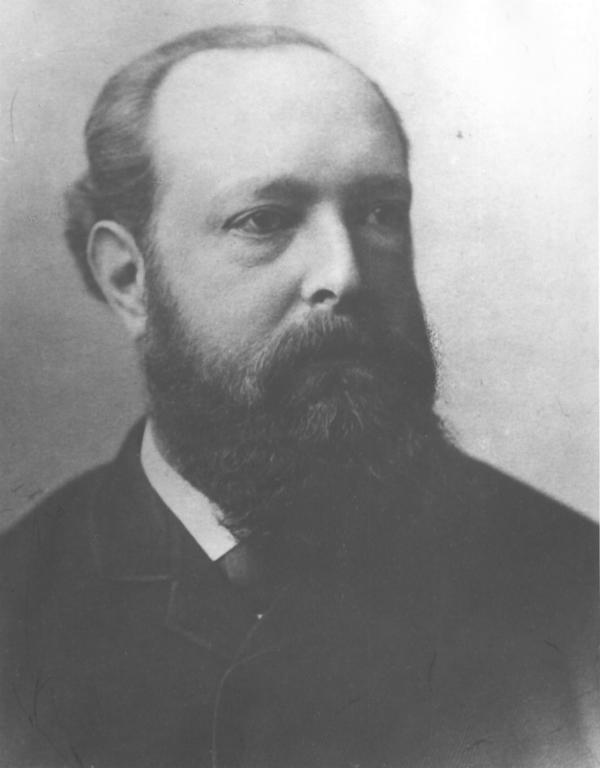 Bester Bürger Darmstadts (O-Ton Darmstädter Tagblatt 1907): Otto Wolfskehl (1841-1907) Foto: Stadtarchiv