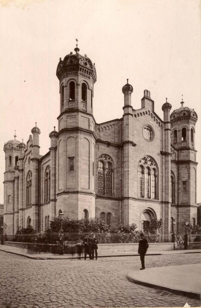 War eine Zierde Darmstadts: Das Jüdische Gotteshaus der Liberalen Synagoge / Foto: Stadtarchiv