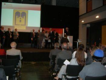 Ludwig-Metzger-Anerkennungspreis 2013 für den Föderverein Liberale Synagoge / Foto: FLS