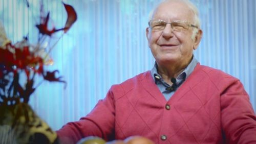 Zeitzeuge Klaus Lingeldein im Liberale Synagoge-Film (c) Loungefilm