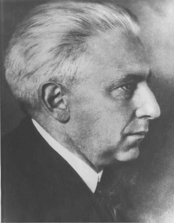 Berühmter Philosoph und Kulturwissenschaftler der Weimarer Republik, Vater Elsbeth Judas: Julius Goldstein / Foto: Stadtarchiv
